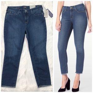 NYDJ Jeans Alina Skinny Ankle Legging Size 14 New